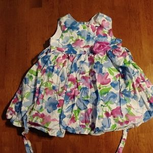 Rare Editions 18m floral dress